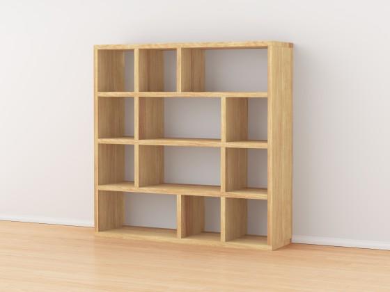 Complemento di arredo per piccoli spazi, per oggetti di uso quotidiano.